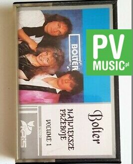 BOLTER NAJWIĘKSZE PRZEBOJE VOL.1 audio cassette