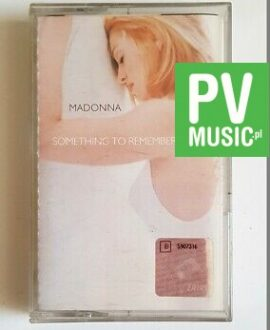 MADONNA SOMETHING TO REMEMBER audio cassette