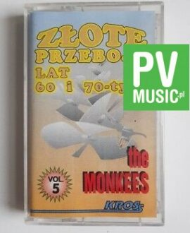GOLD HITS 60,70 THE MONKEES audio cassette