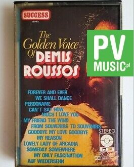 DEMIS ROUSSOS THE GOLDEN VOICE audio cassette