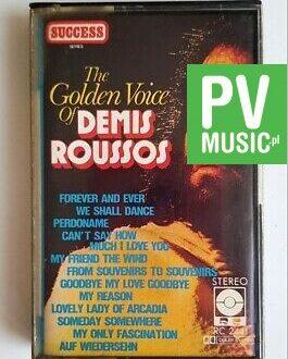 DEMIS ROUSSOS THE GOLDEN VOICE audio cassette