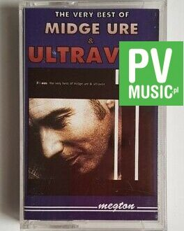 MIDGE URE & ULTRAVOX THE VERY BEST OF audio cassette