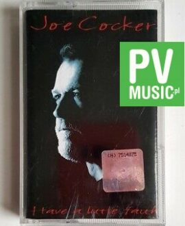 JOE COCKER HAVE A LITTLE FAITH audio cassette