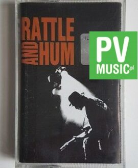 U2 RATTLE AND HUM audio cassette