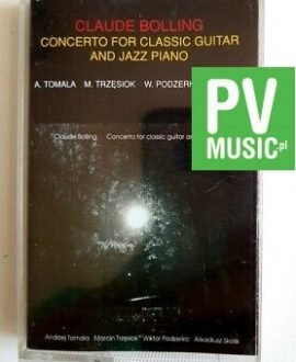 CLAUDE BOLLING CONCERTO FOR CLASSIC GUITAR AND PIANO POLONIA RECORDS cassette