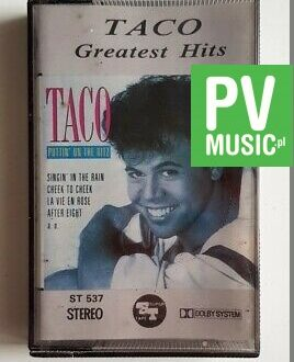 TACO GREATEST HITS audio cassette