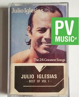 JULIO IGLESIAS BEST OF VOL.1 audio cassette
