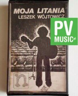 LESZEK WÓJTOWICZ MOJA LITANIA audio cassette