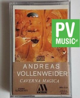 ANDREAS VOLLENWEIDER CAVERNA MAGICA **    audio cassette