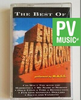 ENNIO MORRICONE THE BEST OF audio cassette