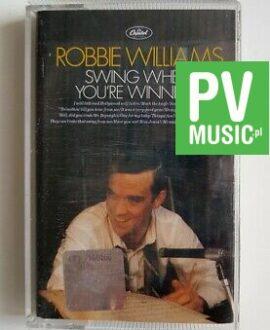 ROBBIE WILLIAMS SWING WHEN YOU'RE WINNING audio cassette