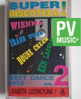 SUPER DISCOTECA KEN LASZLO, TRANS WORK.. audio cassette