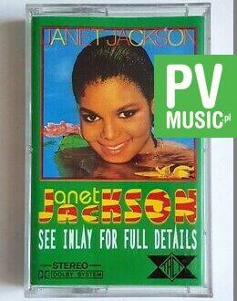 JANET JACKSON JANET JACKSON audio cassette