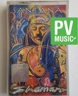 SANTANA SHAMAN  audio cassette