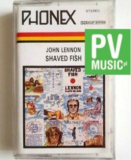 JOHN LENNON SHAVED FISH audio cassette