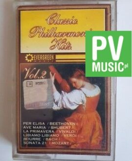 CLASSIC PHILHARMONIC HITS vol.2 audio cassette