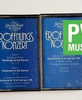 L.V.BEETHOVEN SYMPHONIE nr 9, 2xMC audio cassette
