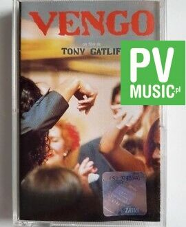 VENGO TONY GATLIF - SOUNDTRACK audio cassette