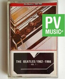 THE BEATLES 1962-1966 audio cassette