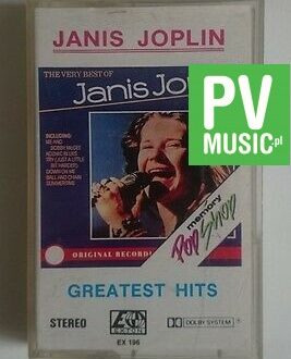 JANIS JOPLIN  GREATEST HITS     audio cassette