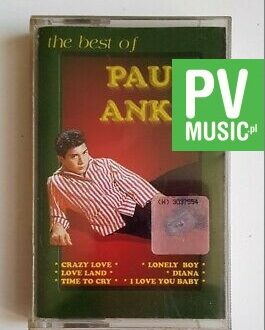 PAUL ANKA THE BEST OF audio cassette