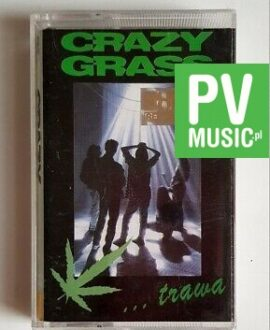 CRAZY GRASS TRAWA audio cassette
