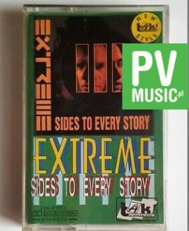 EXTREME SIDES TO EVERY STORY audio cassette
