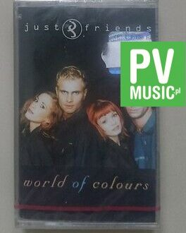 JUST & FRIENDS  WORLD OF COLOURS   NEW IN FOIL    audio cassette