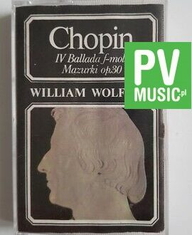 CHOPIN WILLIAM WOLFRAM RECITAL audio cassette