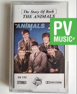 THE ANIMALS THE STORY OF ROCK audio cassette