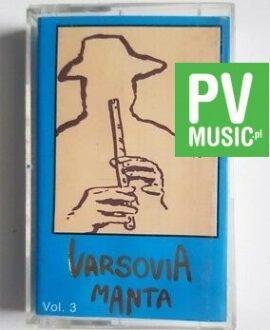 VARSOVIA MANTA VOL.3 audio cassette