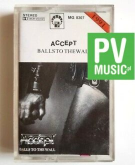 ACCEPT BALLS TO THE WALL audio cassette