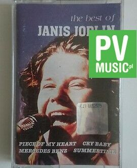 JANIS JOPLIN  THE BEST OF     audio cassette