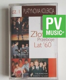 ZŁOTE PRZEBOJE LAT 60' THE SEARCHERS, THE MARCELS.. audio cassette
