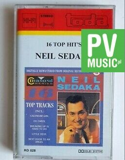 NEIL SEDAKA 16 TOP HITS audio cassette