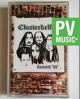 CLOSTERKELLER KONCERT '97 audio cassette