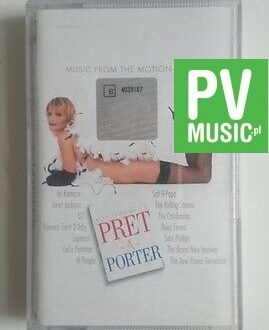 PRET A PORTER  MUSIC FROM THE MOTION PICTURE   audio cassette