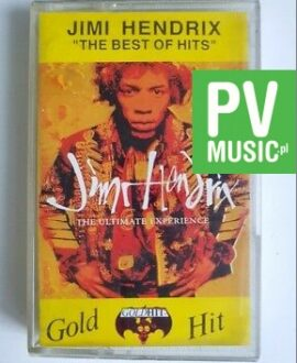 JIMI HENDRIX THE BEST OF HITS audio cassette