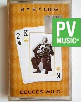 B.B. KING DEUCES WILD audio cassette