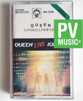 QUEEN LIVE KILLERS part 1 audio cassette