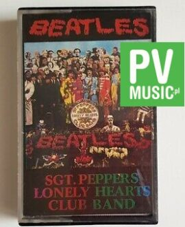 THE BEATLES SGT. PEPPERS LONELY HEARTS CLUB BAND audio cassette