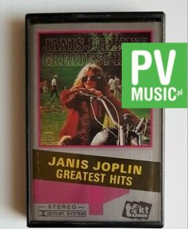 JANIS JOPLIN'S GREATEST HITS audio cassette