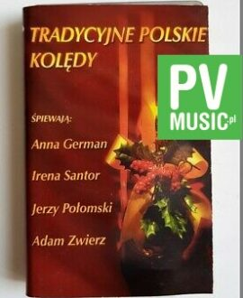 POLSKIE KOLĘDY ANNA GERMAN, IRENA SANTOR.. audio cassette