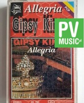 GIPSY KINGS ALLEGRIA audio cassette