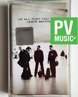 U2 ALL THAT YOU CAN'T LEAVE BEHIND audio cassette
