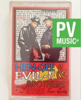 HEN-GEE & EVIL E BROTHERS audio cassette