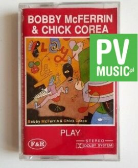 BOBBY McFERRIN & CHICK COREA PLAY audio cassette