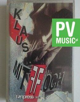 KLAUS MITFFOCH  KLAUS MITFFOCH    audio cassette