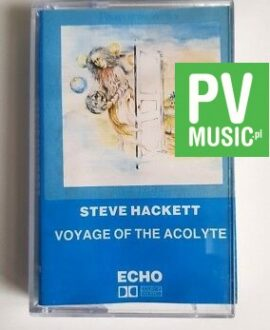 STEVE HACKETT VOYAGE OF THE ACOLYTE audio cassette
