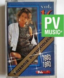 PRZEBOJE DZIESIĘCIOLECIA 83-93 CHINA GIRL, AFRIKANA MAN.. audio cassette